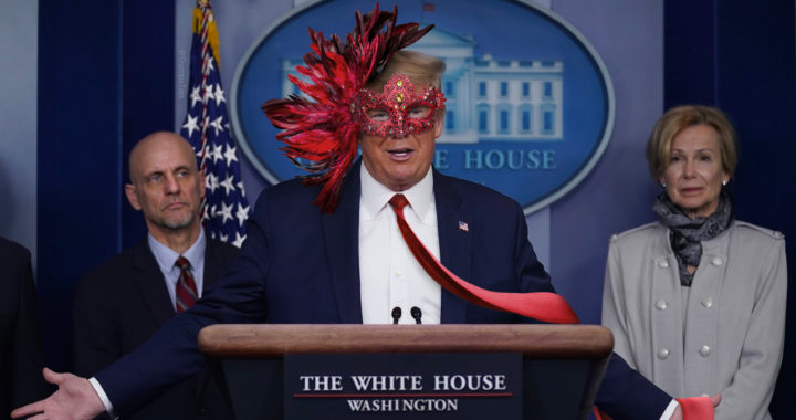 Fake president Trump