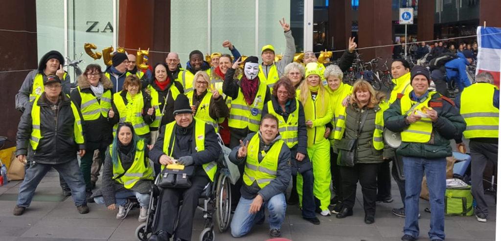 Hans van Osch en gele hesjes club