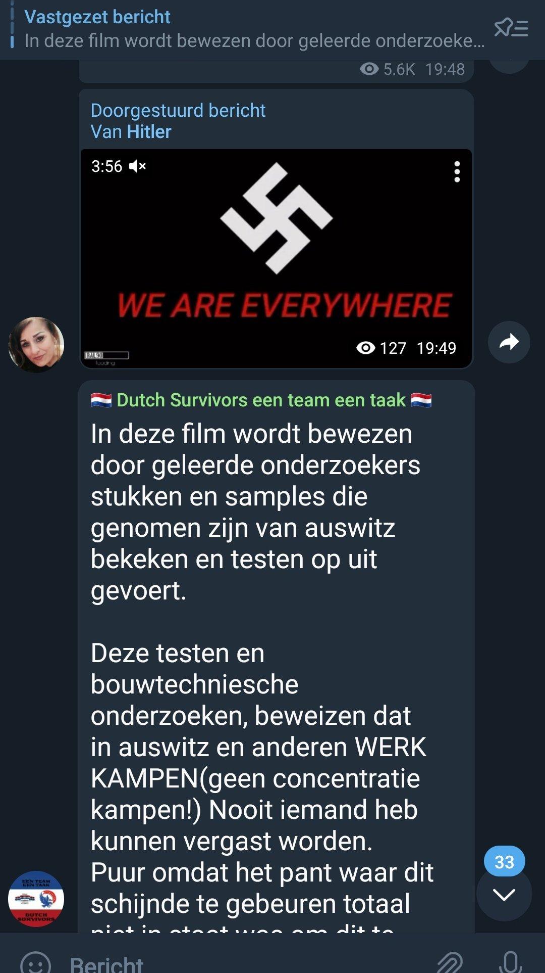 Nazi en Hitler fan Mark Spook