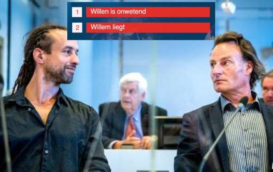 Willem Engel liegt en bedriegt