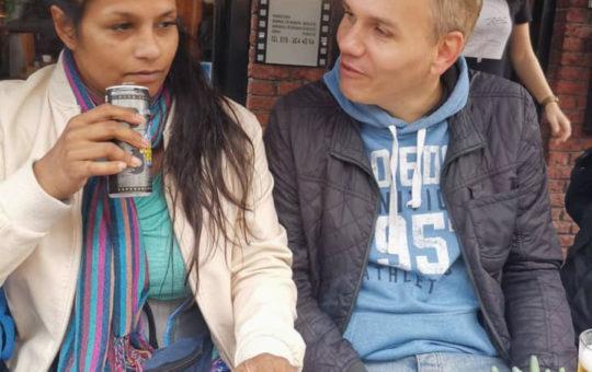 Mita Overvliet en Sander Strootman