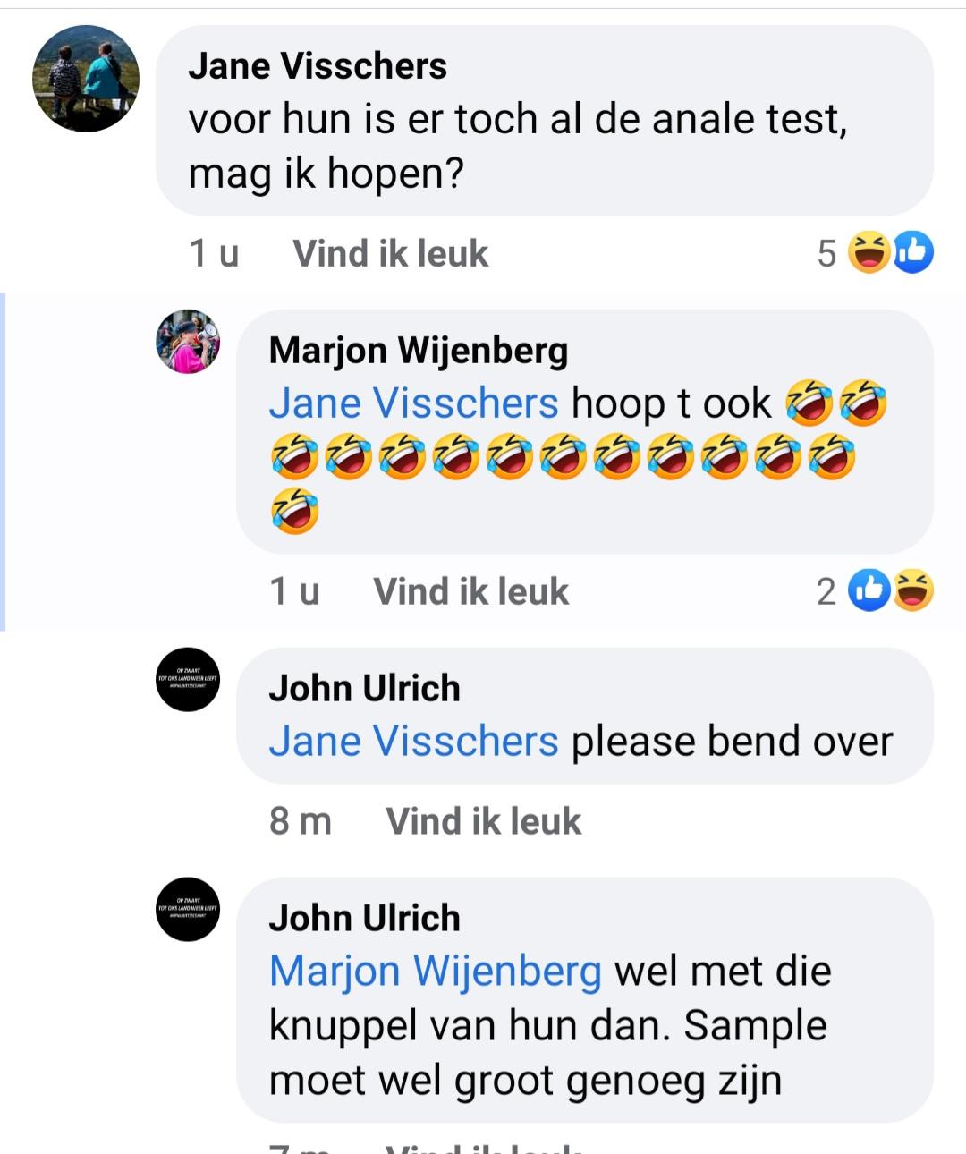 Feestvierende aso Marjon Wijenberg